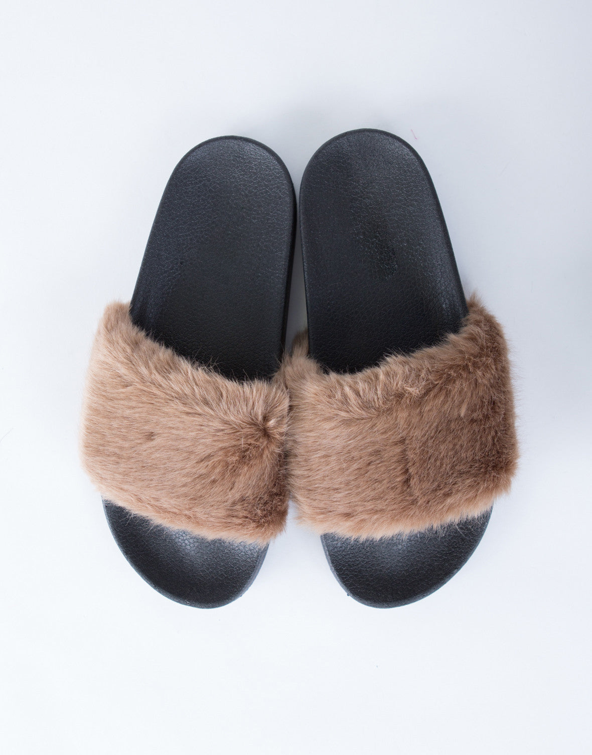 Soft Fur Slides