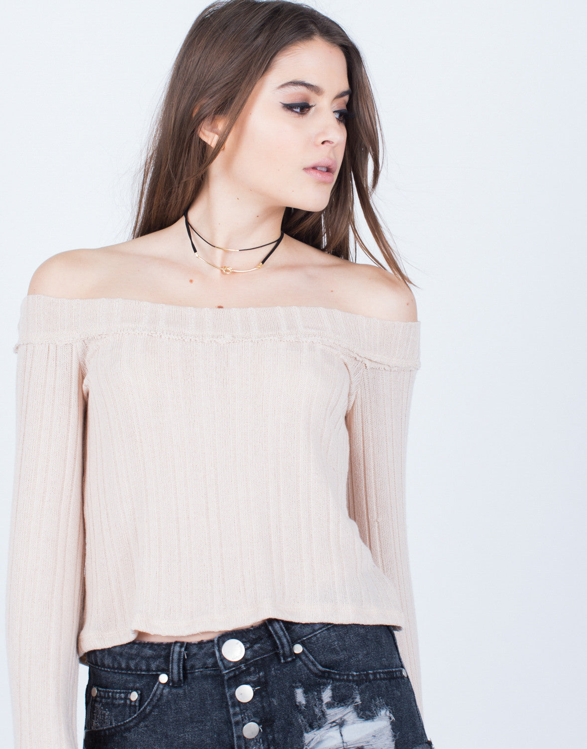 Soft Knit Top