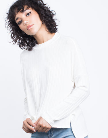 Soft Ribbed Top - 2020AVE