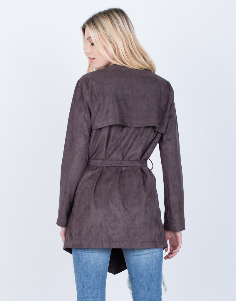 Soft Suede Jacket - 2020AVE