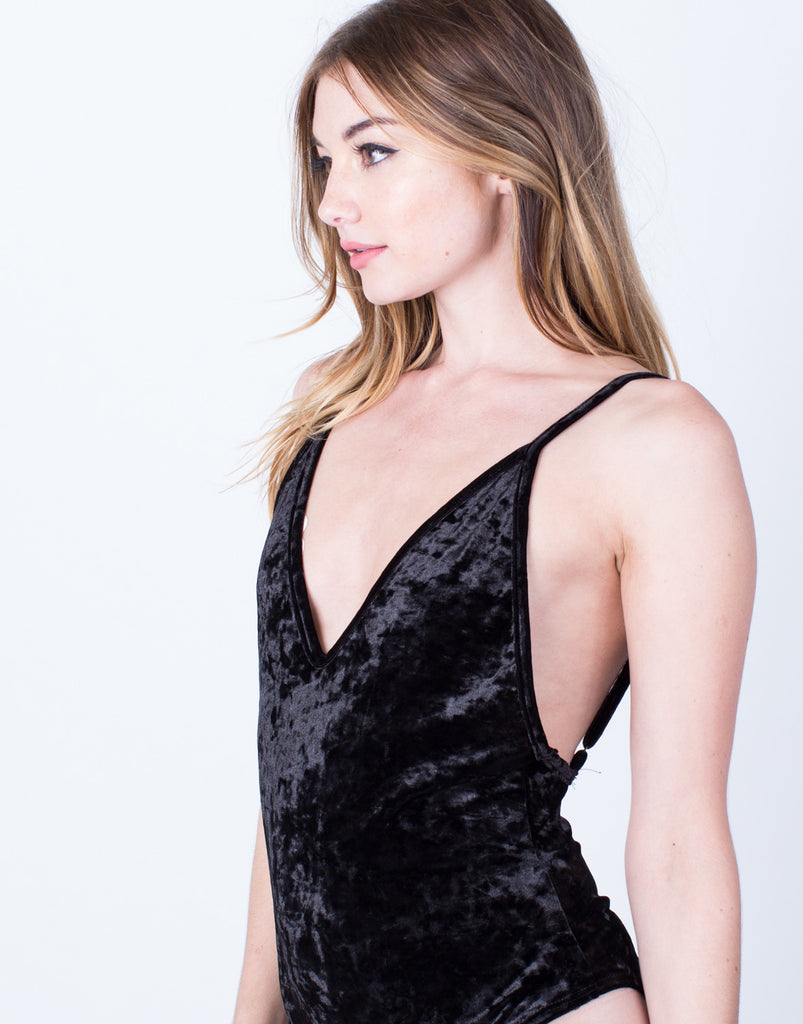 Soft Velvet Bodysuit - 2020AVE