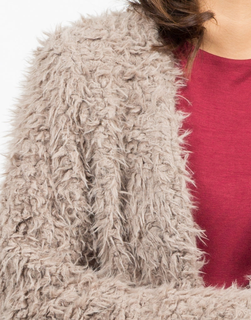Soft Faux Fur Coat - 2020AVE