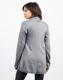 Back View of Soft Lined Cardigan