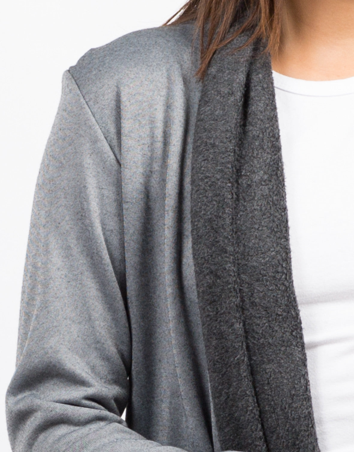 Detail of Soft Lined Cardigan