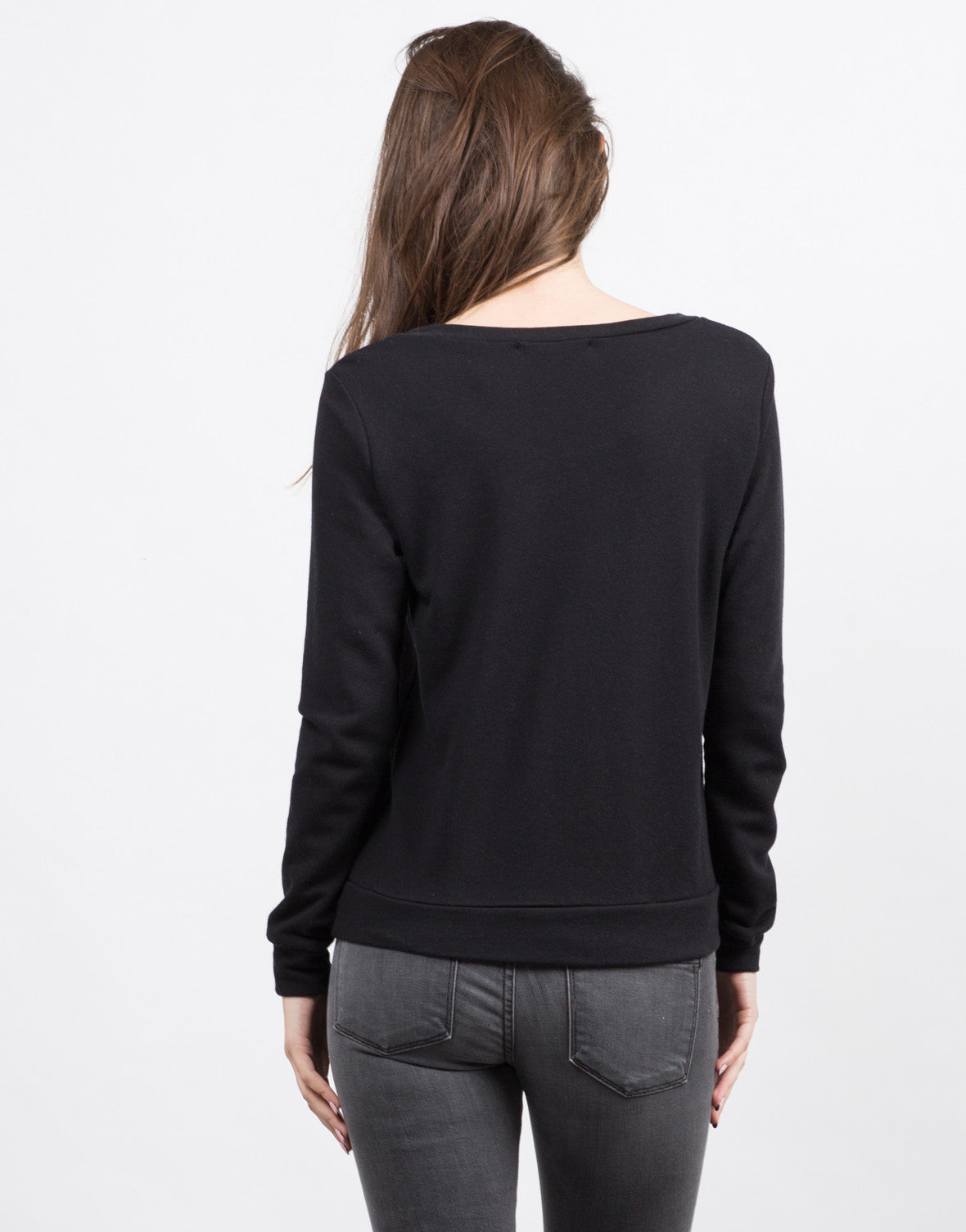 Back View of Soho Sweatshirt