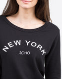 Detail of Soho Sweatshirt