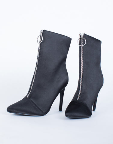 Solo Ring Heel Boots - 2020AVE