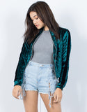 Solo Ring Velvet Jacket - 2020AVE
