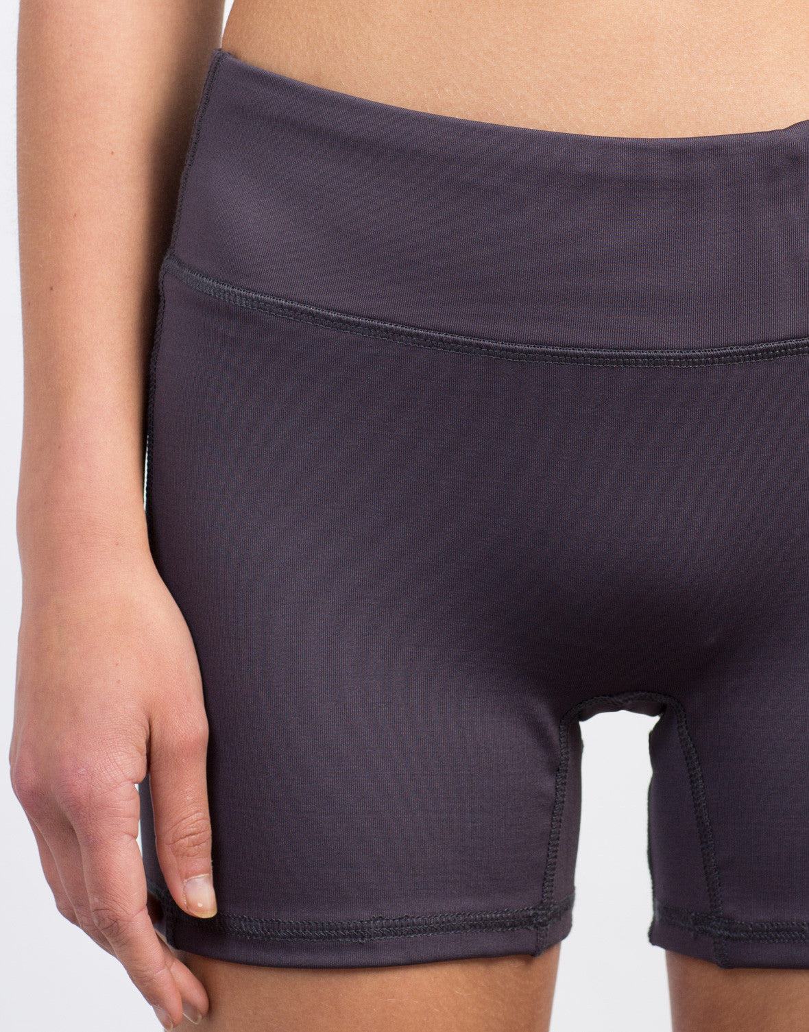 Detail of Spandex Activewear Shorts