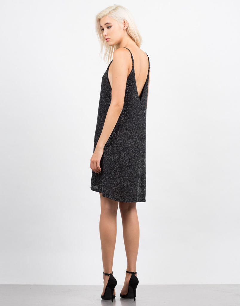 Sparkle Criss Cross Party Dress - 2020AVE