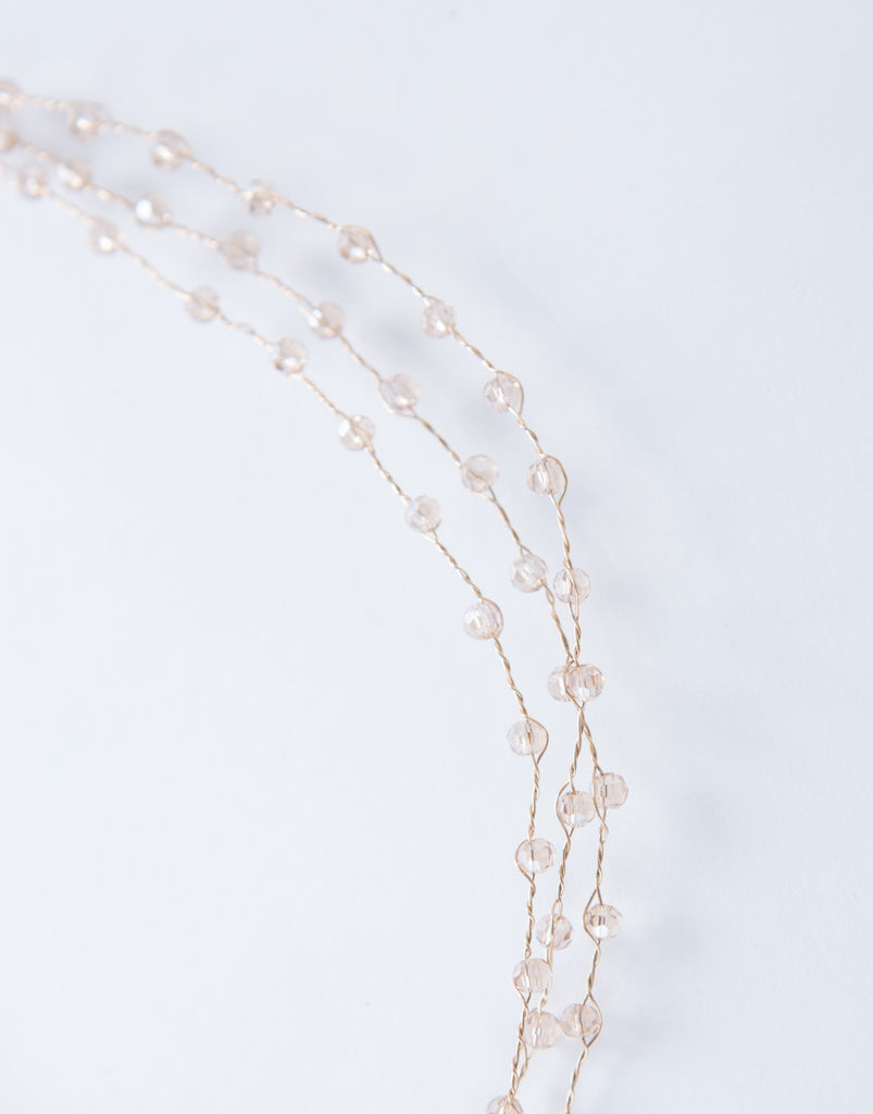 Sparkly Beaded Choker