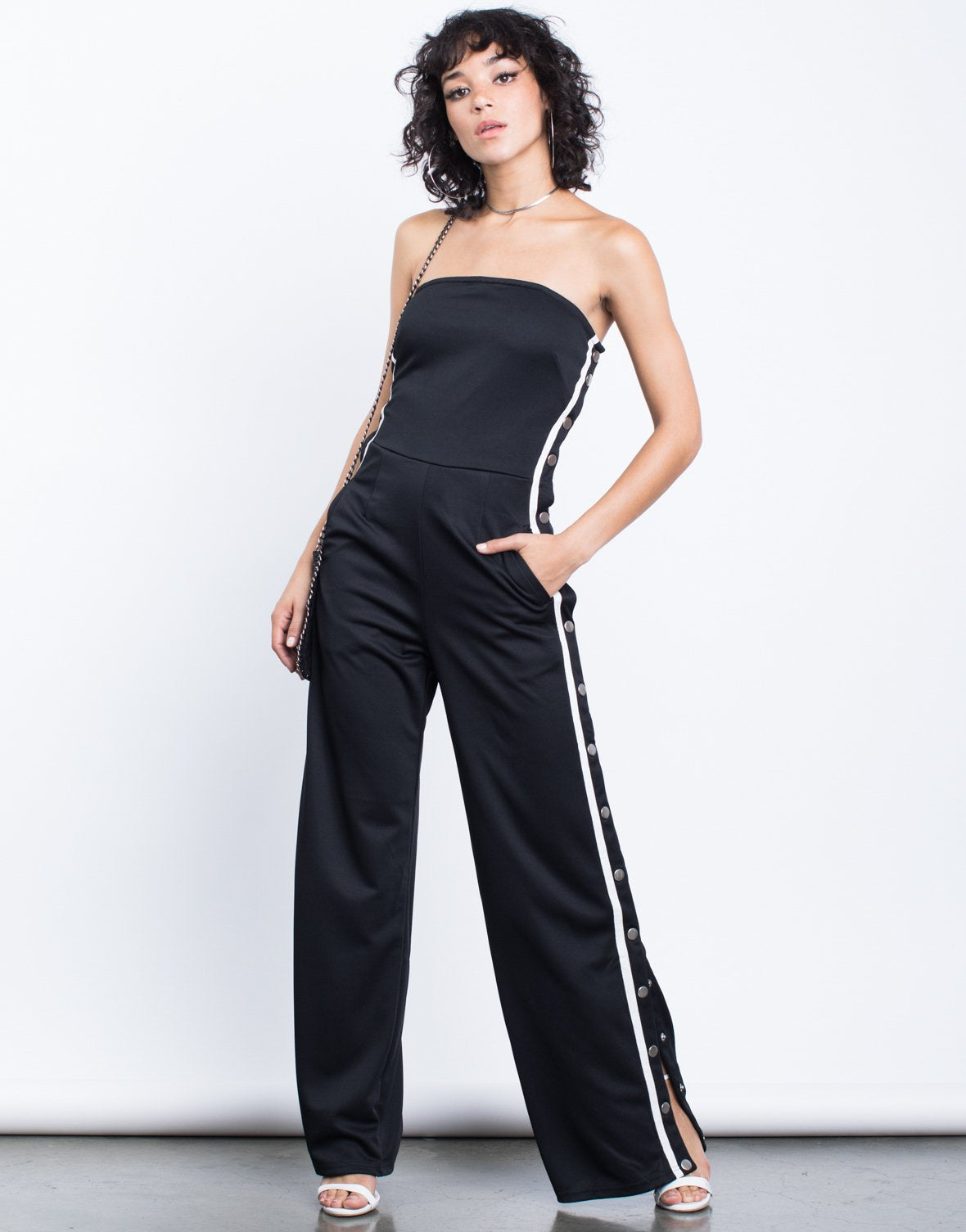 Sporty Days Striped Jumpsuit - 2020AVE