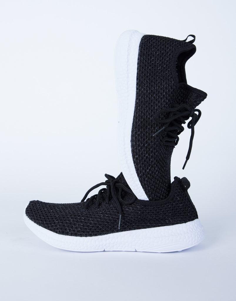 Sporty Knit Sneakers - 2020AVE
