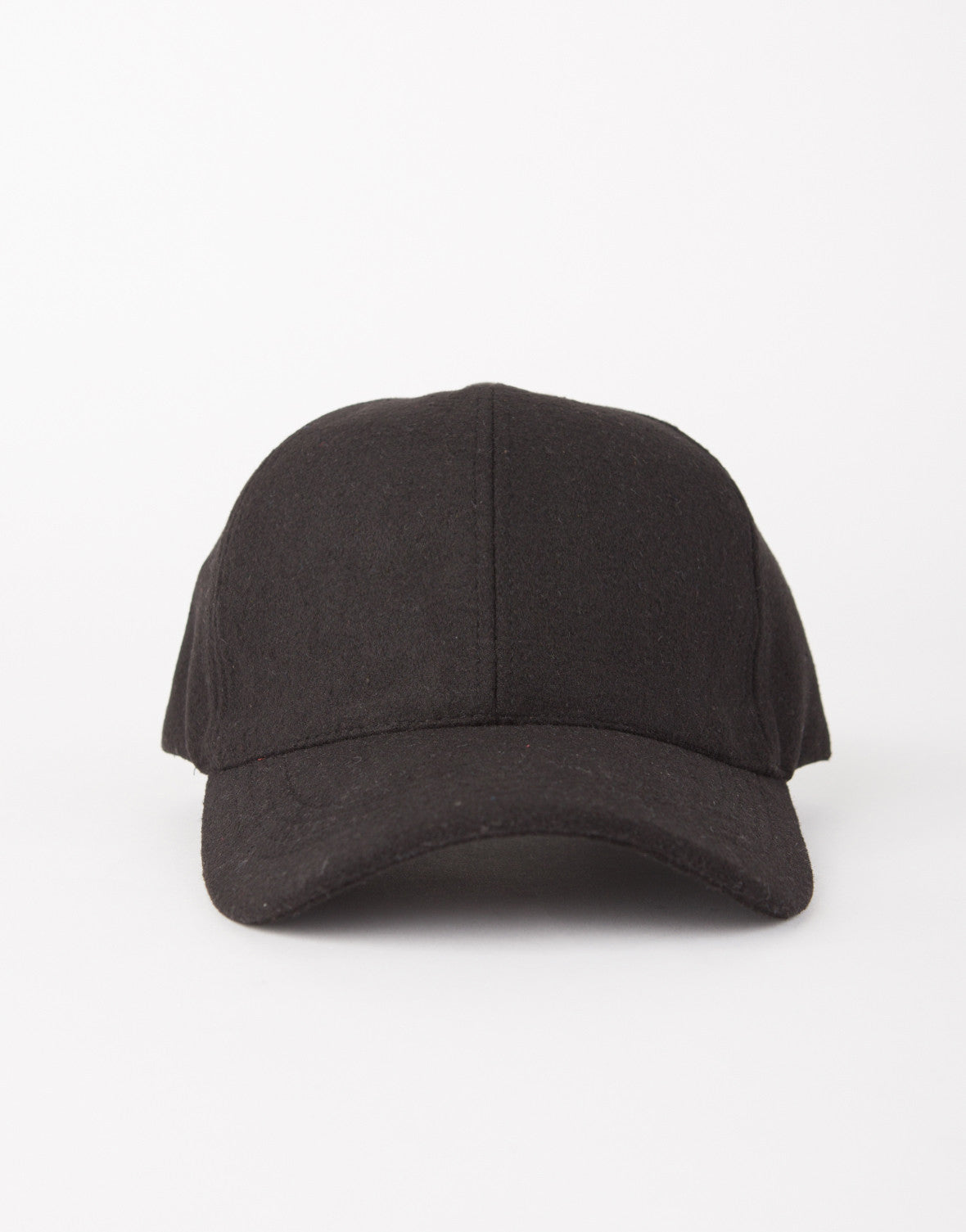 Sporty Wool Baseball Cap