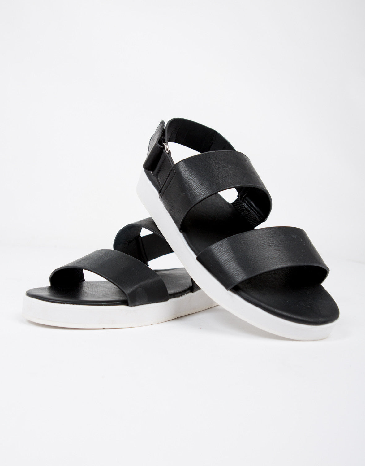 Sporty Contrast Sandals