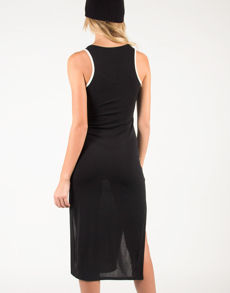 Sporty Front Slit Dress - 2020AVE