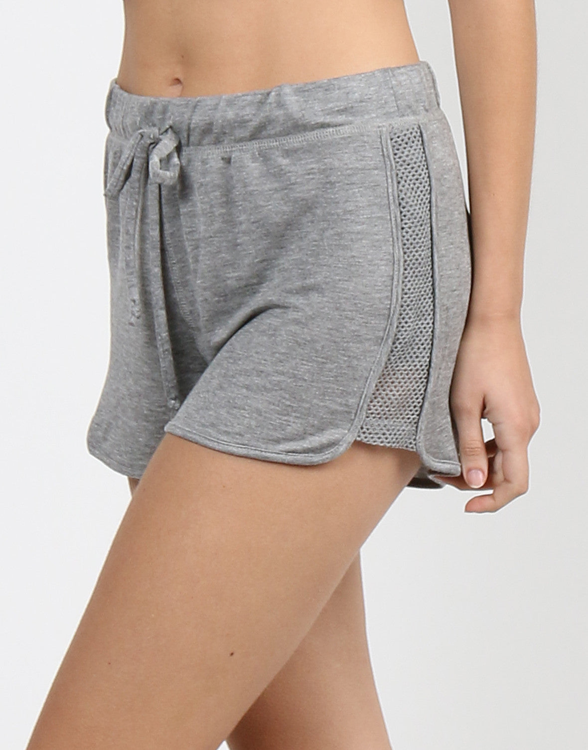 Sporty Jersey Knit Shorts - 2020AVE