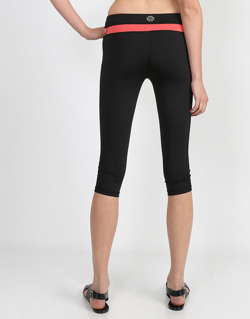 Sporty Track Stripe Capri Pants - 2020AVE