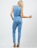 Back View of Sporty Vintage Jumpsuit
