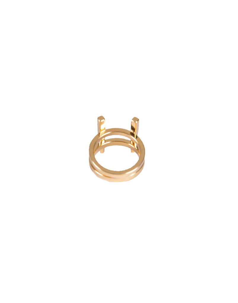Stacked Double Bar Ring - 2020AVE