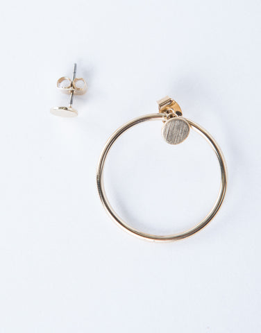 Stand Alone Hoop Earrings