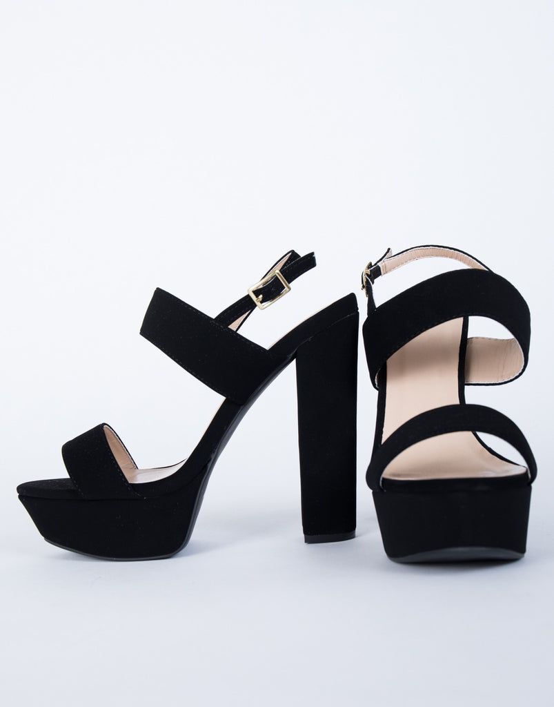 Stand Tall Banded Heels