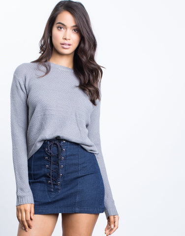 Staple Knit Sweater - 2020AVE