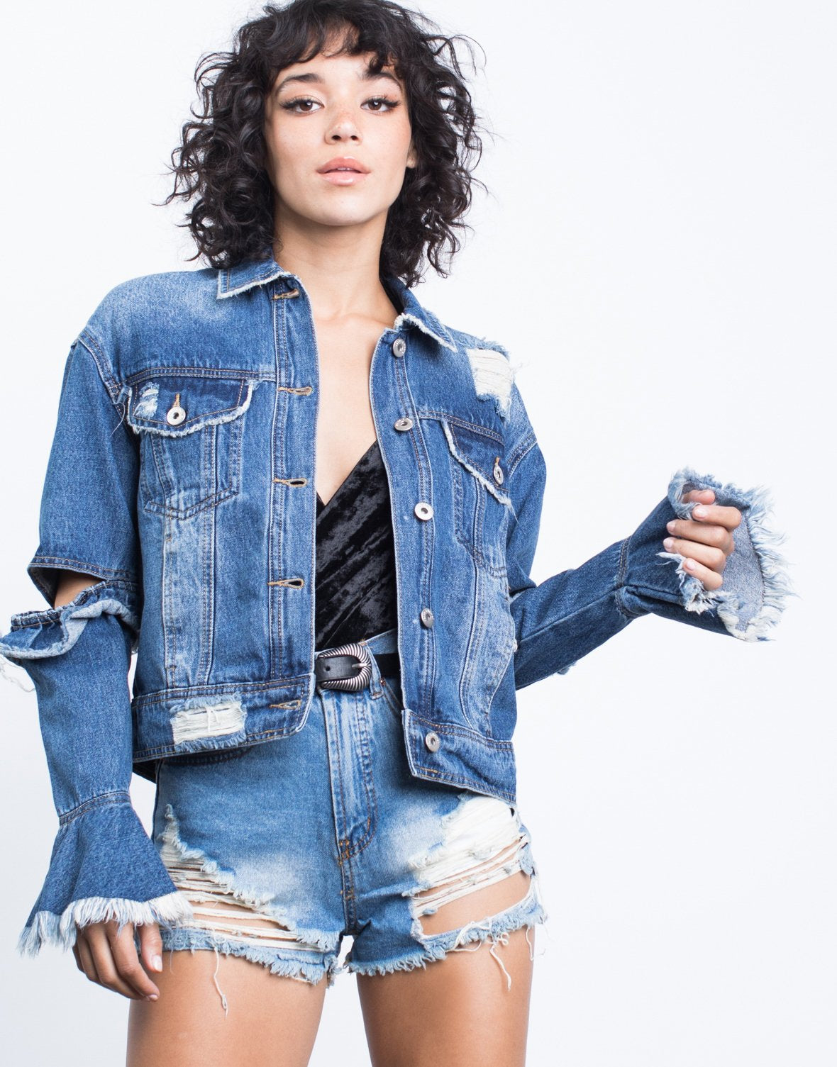 Statement Denim Jacket - 2020AVE