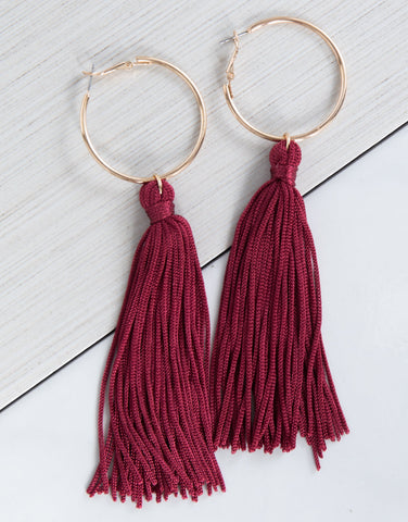 Statement Tassel Earrings - 2020AVE