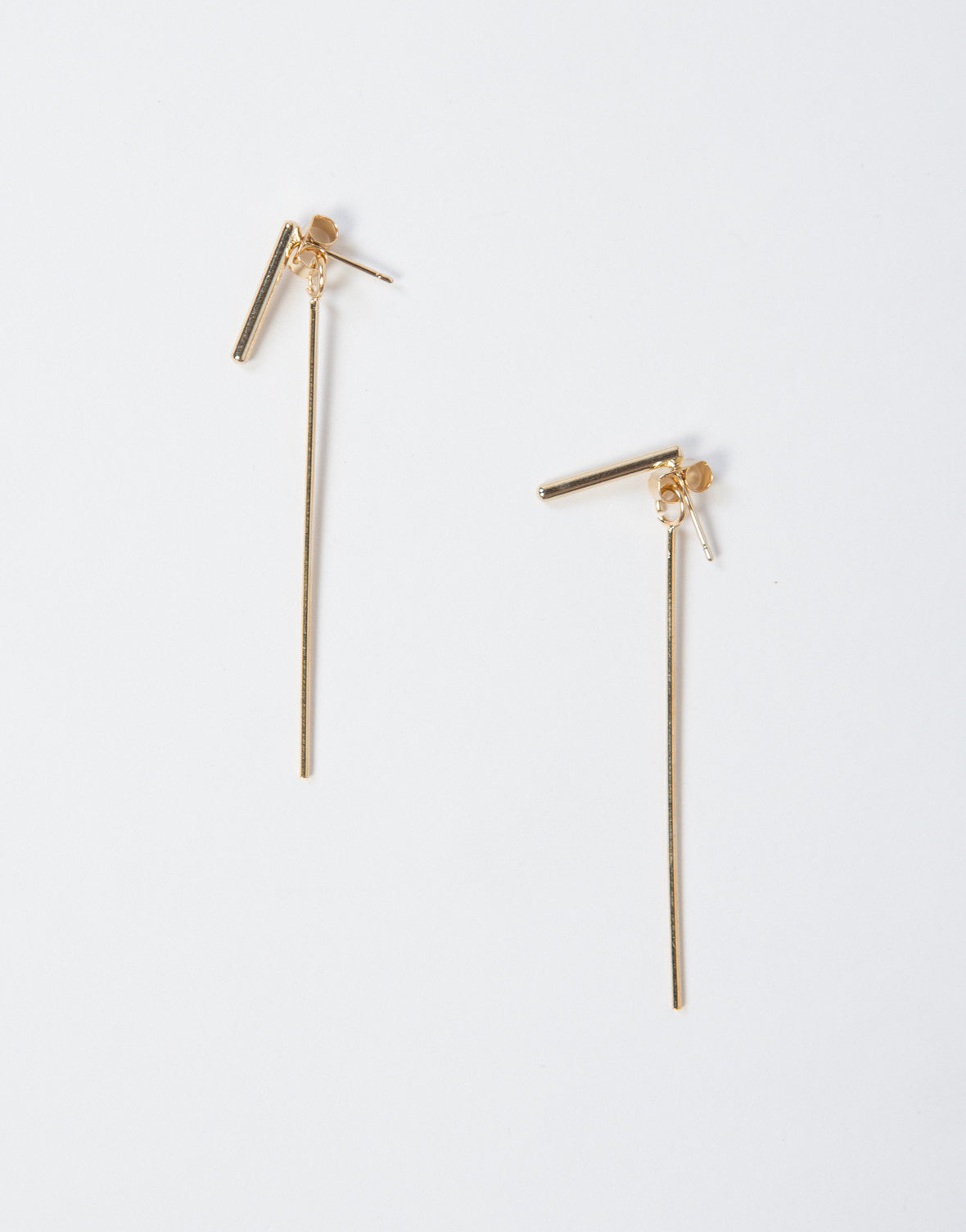 Stick Posted Stud Earrings