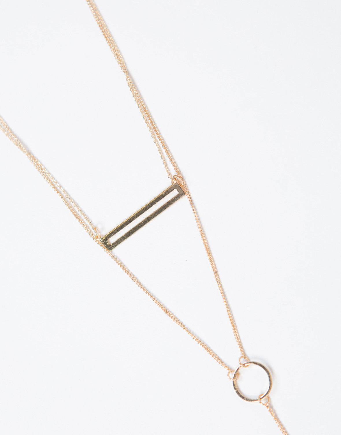 Stone Layered Dainty Necklace - 2020AVE