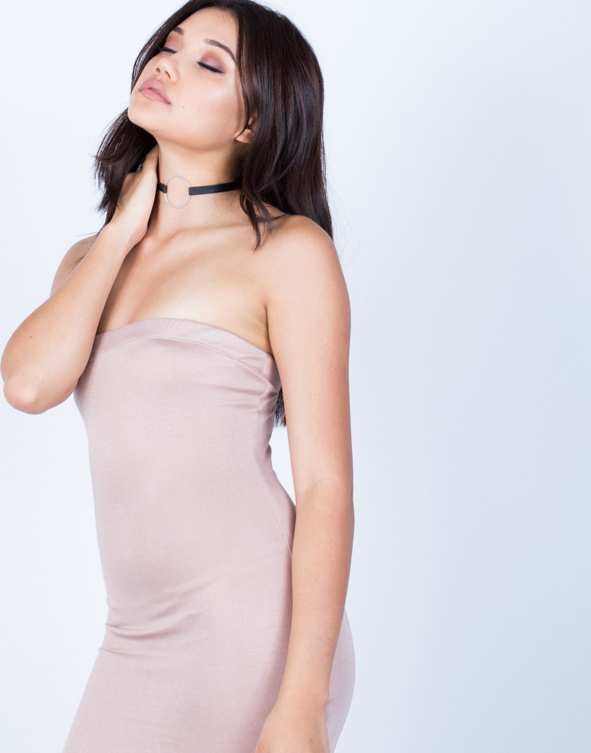 Strapless Bodycon Dress - 2020AVE