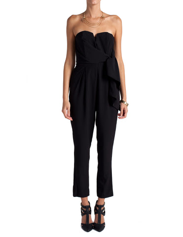 Strapless Side Tie Jumpsuit - 2020AVE