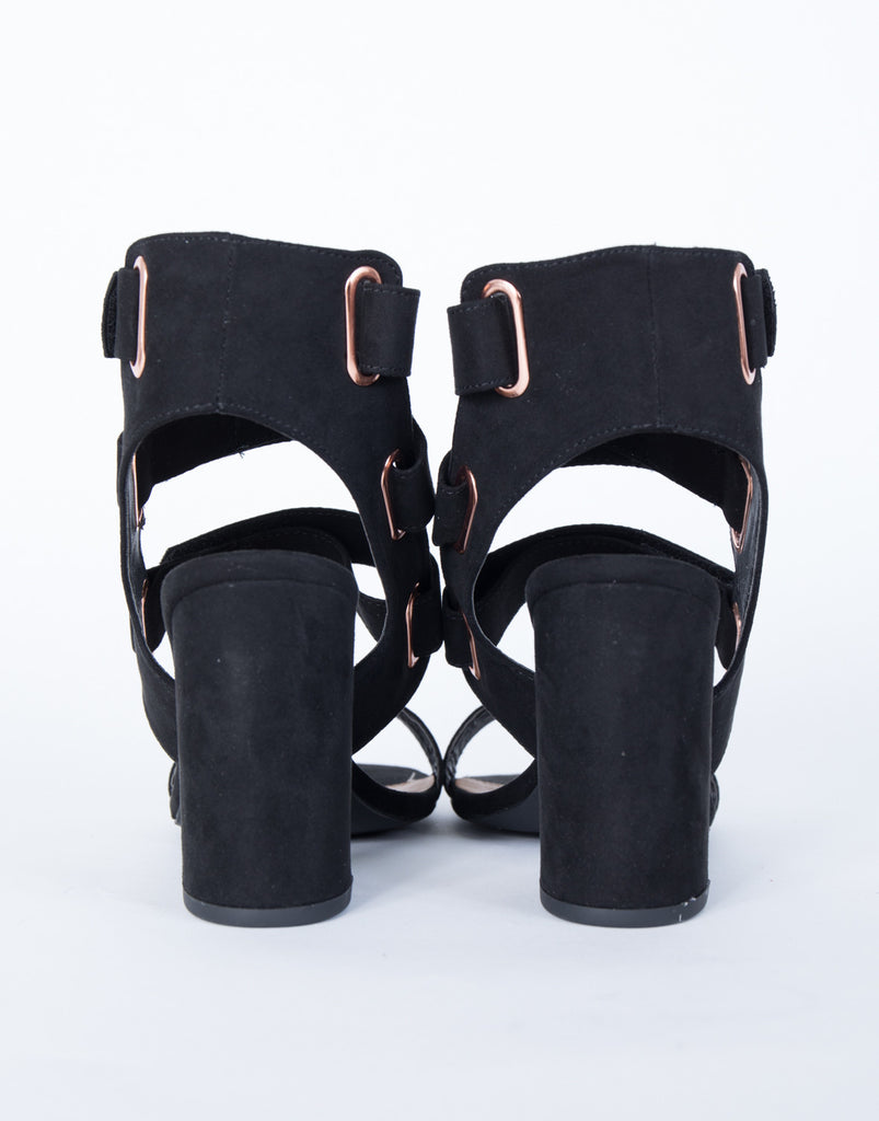 Strapped Out Velcro Sandals - 2020AVE