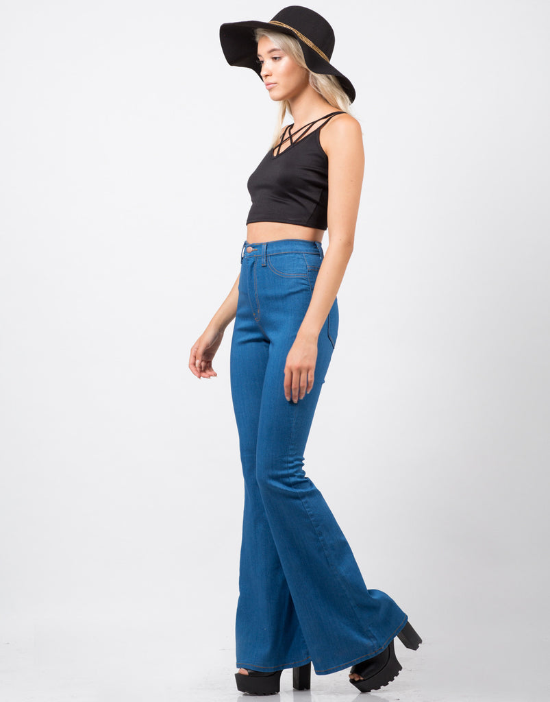 Strapped In Crop Top - 2020AVE