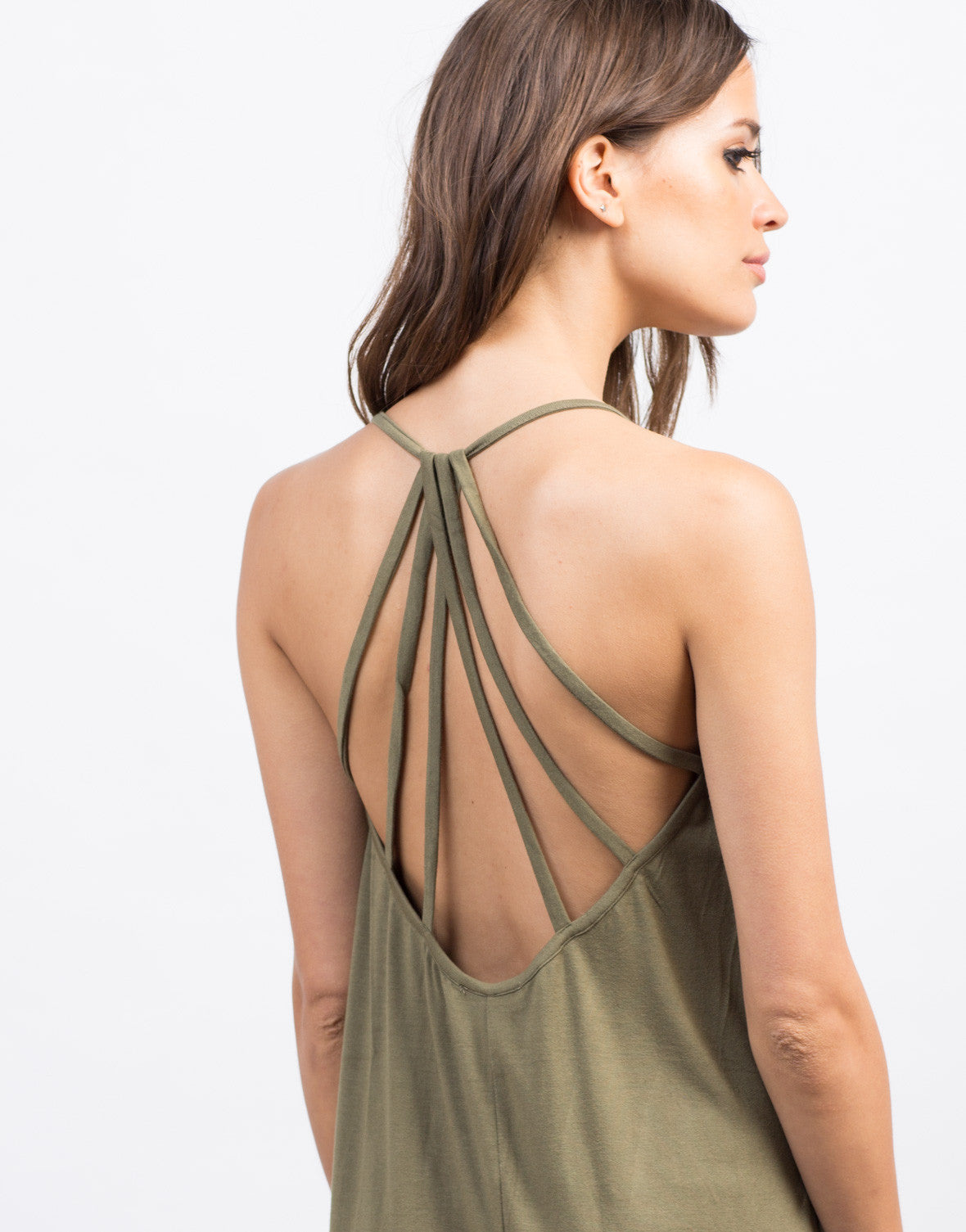 Detail of Strappy Midi Day Dress