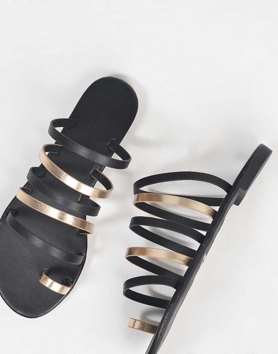 Strappy Banded Sandals