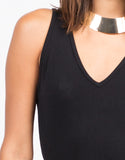 Detail of Strappy Back Bodycon Dress