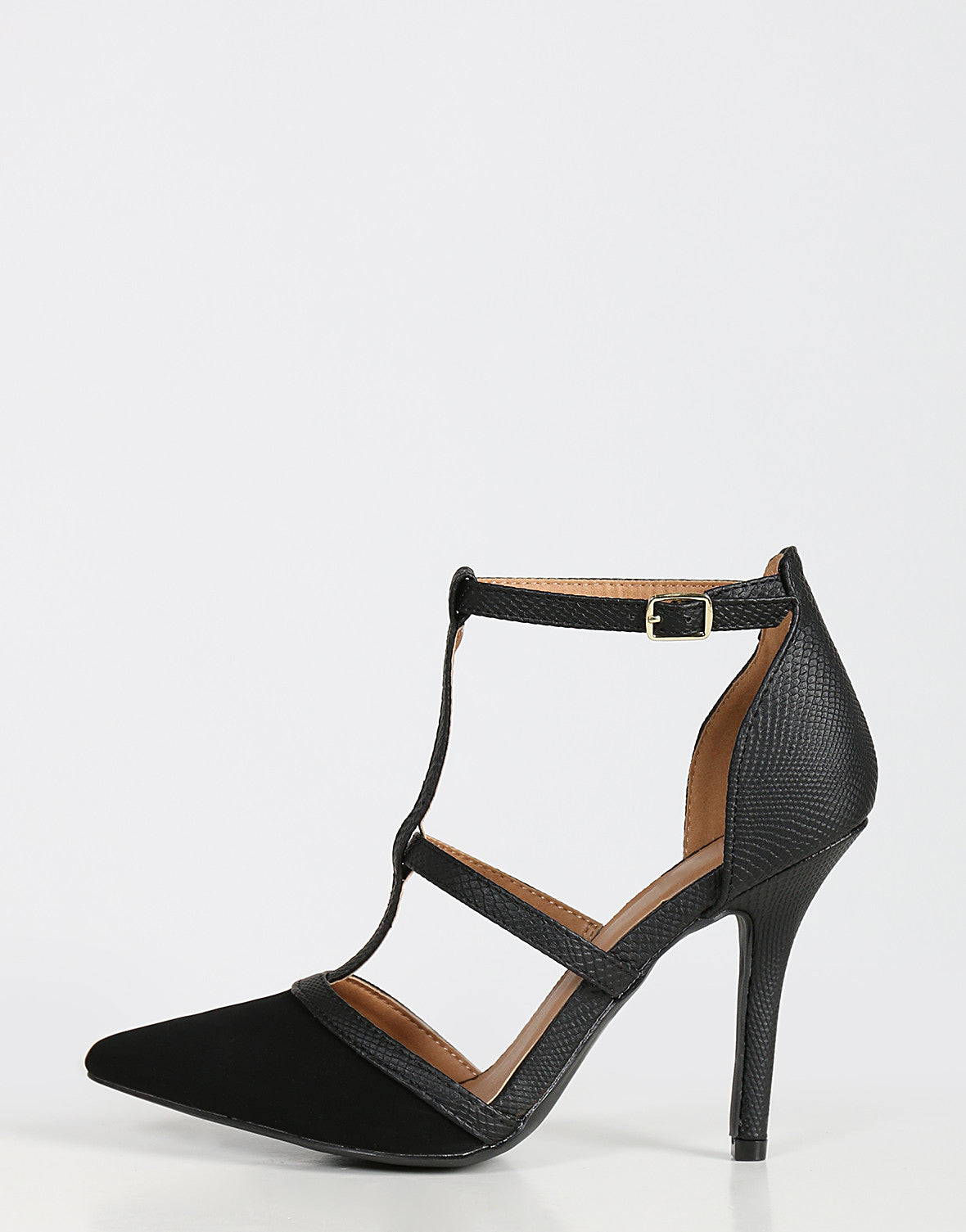 Strappy Caged Pumps