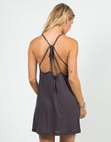 Back View of Strappy Cami Dress
