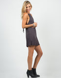 Side View of Strappy Cami Dress