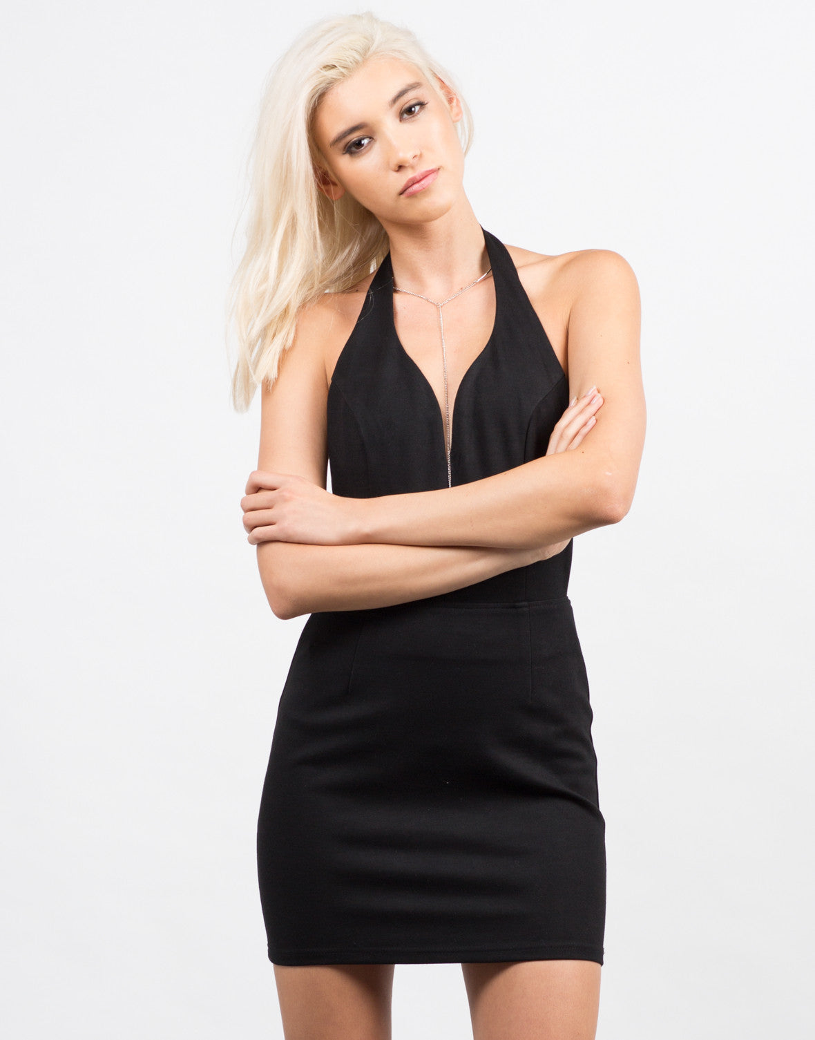 Strappy Halter Dress - 2020AVE