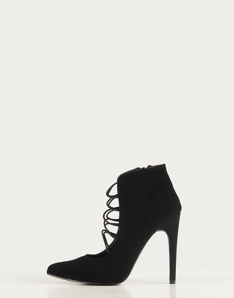 Strappy Pointed Toe Pumps - 2020AVE
