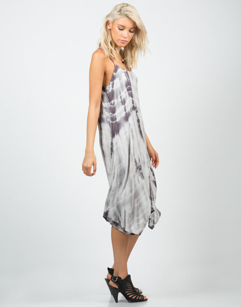 Strappy Tie-Dye Dress - 2020AVE
