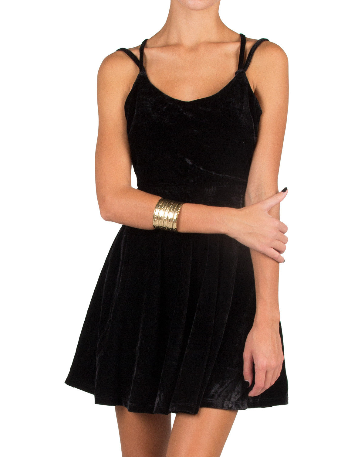 Strappy Velvet Dress - 2020AVE