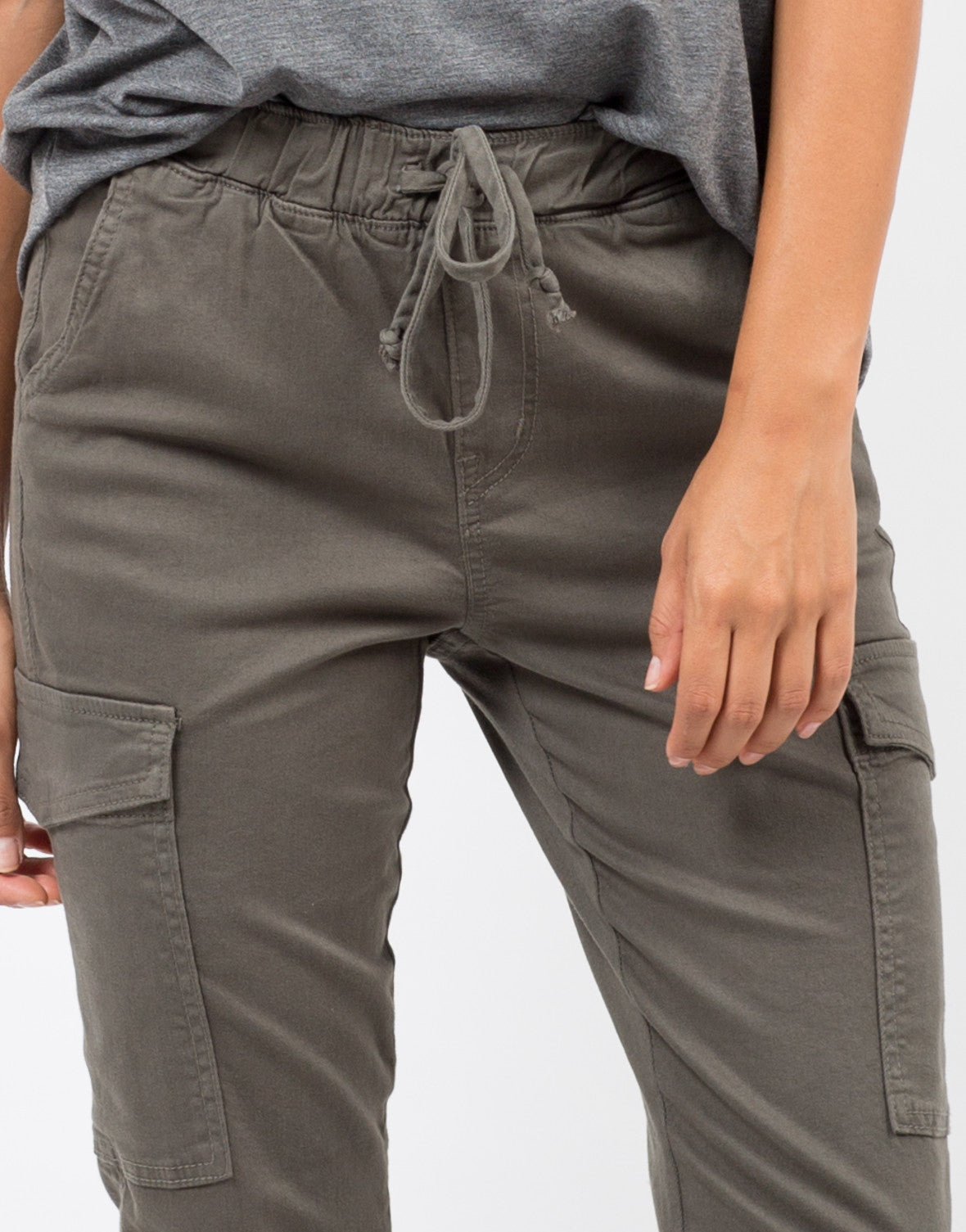 Detail of Stretchy Cargo Pants