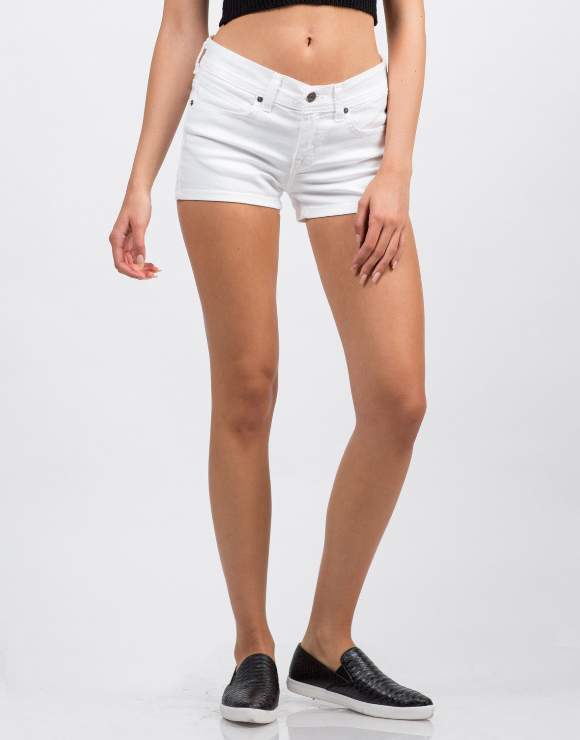 Stretchy Denim Shorts - 2020AVE