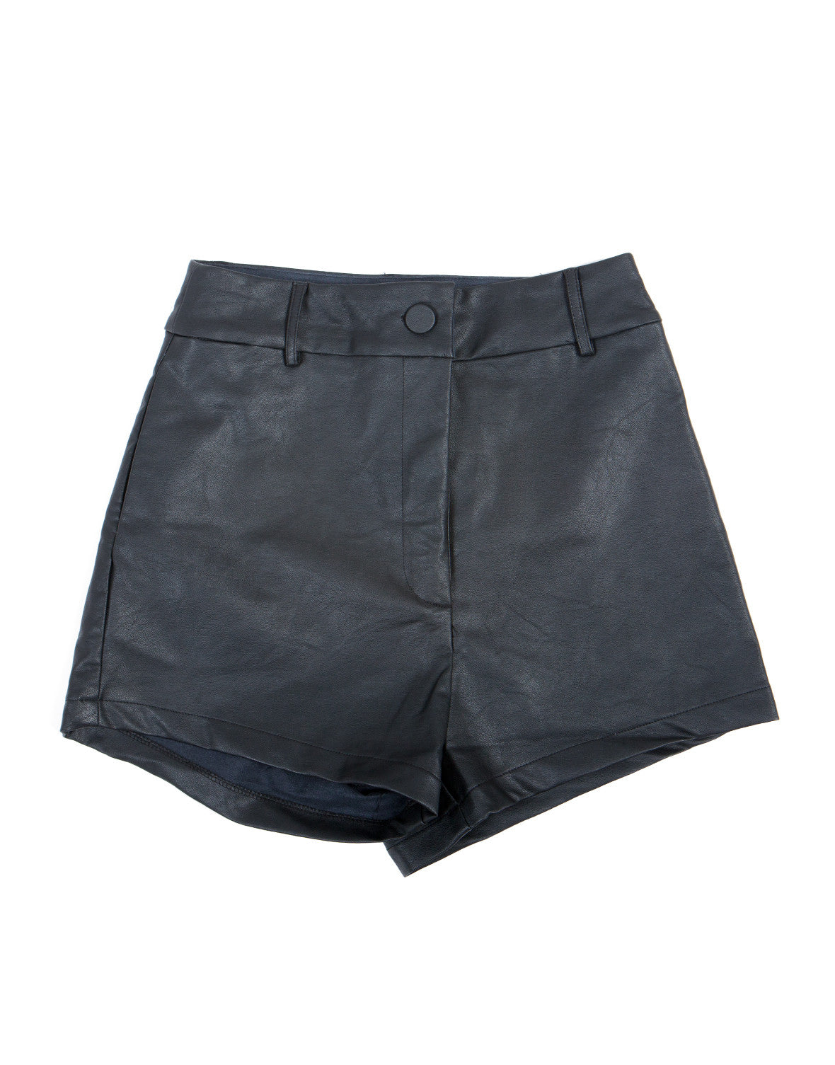 Stretchy Leather Hot Shorts - 2020AVE
