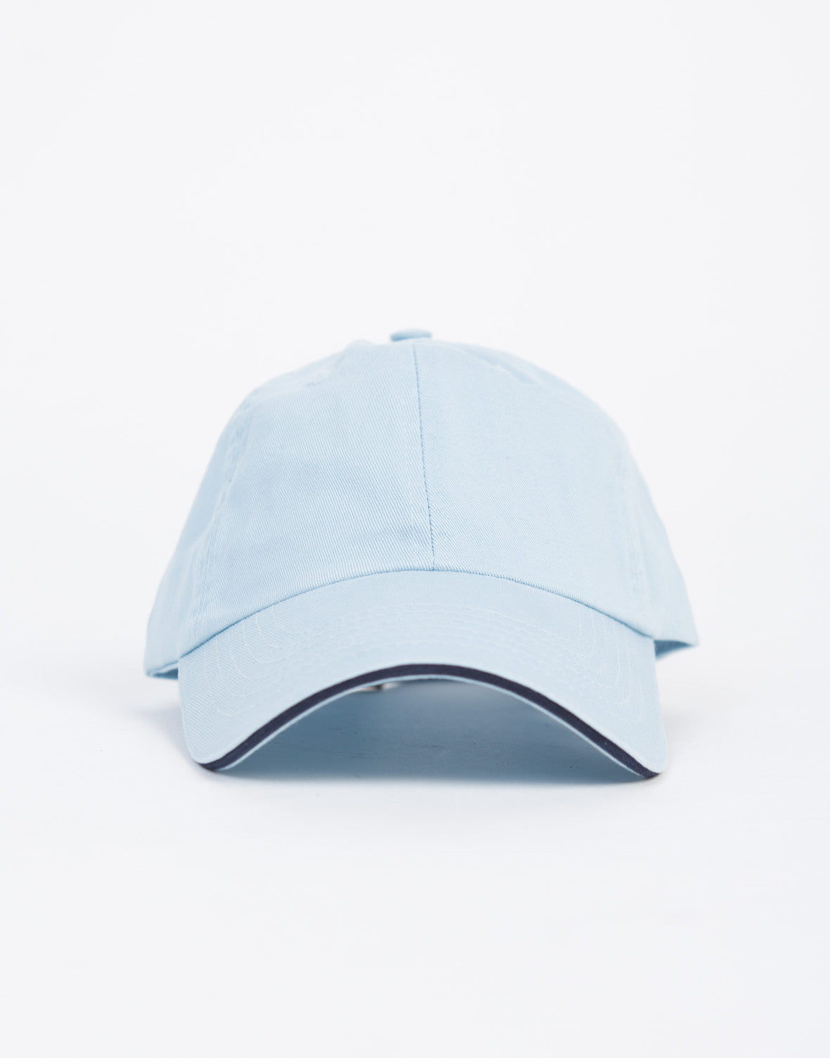 Striped Adjustable Baseball Cap