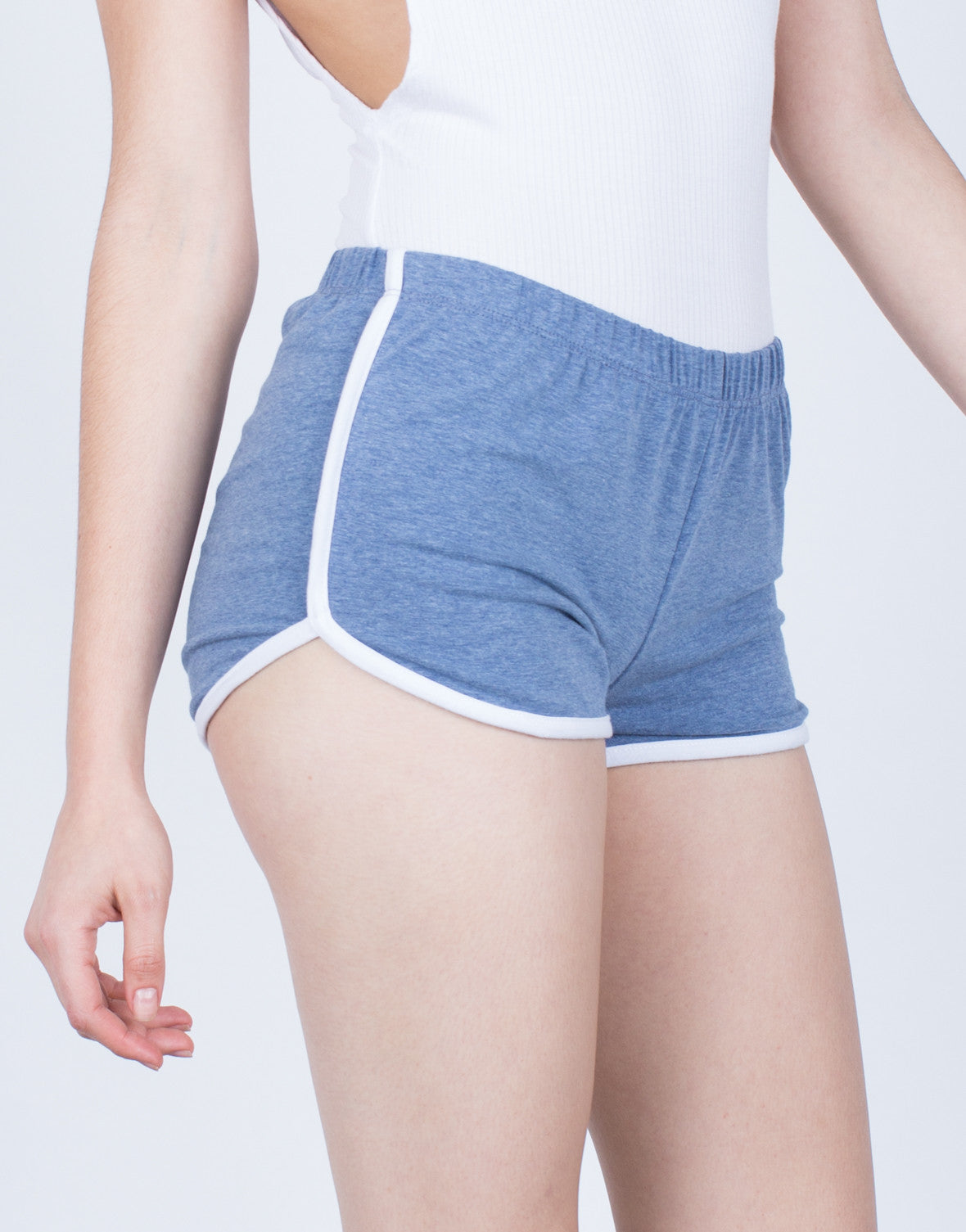 Detail of Striped Sporty Shorts